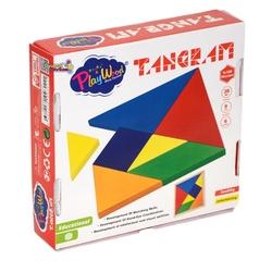 PlayWood-Onyıl - Play Wood Eğitici Ahşap Oyuncak Tangram Oyunu