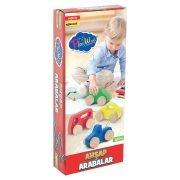 Play Wood Oyuncak Ahşap Araba Pakette 4 Adet - Thumbnail