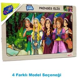 PlayWood-Onyıl - PlayWood Eğitici Ahşap Puzzle Prenses Elis 20 Parça
