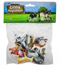 MEGA - Poşetli Çiftlik Hayvanları Seri 1