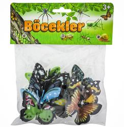 MEGA - Poşetli Hayvan-Böcekler-Kelebekler