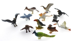 MEGA - Poşetli Hayvan-Vahşi Hayvanlar Kuşlar Tavuskuşu