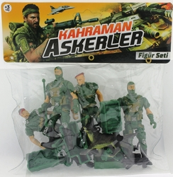 MEGA - Poşette Asker Figürleri Seti