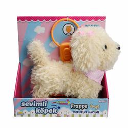 Sunman - Puffy Friends Sevimli Kumandalı Yürüyen Sesli Oyuncak Köpek Frappe