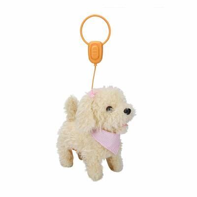 Puffy Friends Sevimli Kumandalı Yürüyen Sesli Oyuncak Köpek Frappe