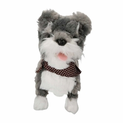 Puffy Friends Sevimli Kumandalı Yürüyen Sesli Oyuncak Köpek Mocha - Thumbnail