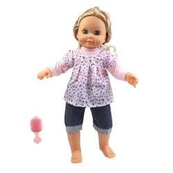 Vardem Oyuncak - Pvc Pilli Konuşan 16 Soruya 70 Farklı Cevap Veren Mila Bebek
