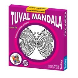Redka - Redka Eğitici Boyama Tuval Mandala Seti