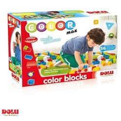Dolu Oyuncak Fabrikasi - Renkli Eğitici Bloklar 56 Parça