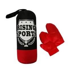 Can Oyuncak - Rising Sports Boks Kum Torbası ve Eldiveni Seti 40 Cm