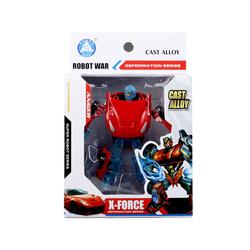 MEGA - Robota Dönüşen Ferrari Benzeri Kırmızı Araba