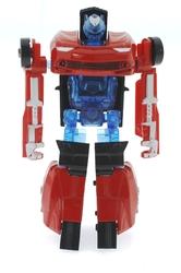MEGA - Robota Dönüşen Kırmızı Metal Araba