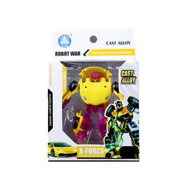 MEGA - Robota Dönüşen Lamlorghini Benzeri Sarı Araba