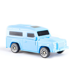 MEGA - Robota Dönüşen Land Rover Benzeri Mavi Araba