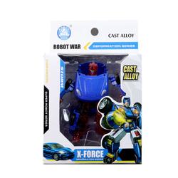 MEGA - Robota Dönüşen Porch Benzeri Mavi Araba