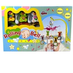 Vardem Oyuncak - Rolling Bell Kurmalı Dönence Hayvanlı Modeller