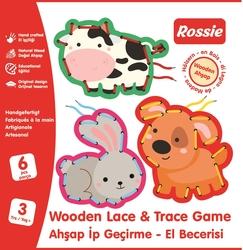 ROSSIE - Rossie Ahşap İp Geçirme El Becerisi Oyunu Seri 2