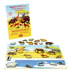 Rossie Ahşap Mıknatıslı Vahşi Yaşam Seti ve Oyun Alanı - Thumbnail