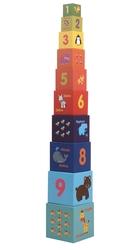 ROSSIE - Rossie Kule Oyunu İç İçe Eğitici Küpler (10'lu)