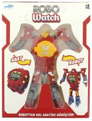 MEGA - Saate Dönüşen Kırmızı Robot