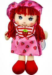 MEGA - Şapkalı Bez Bebek Çilek Kız F31810