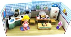 MEGA - Sarı Saçlı Maylla Mini Mutfak Oyun Seti Sesli Işıklı