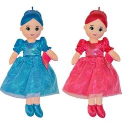 Selay - Selay Oyuncak Bez Bebek 50 Cm 5 Farklı Renk