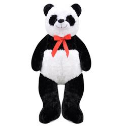 Selay - Selay Oyuncak Büyük Boy Sarılmalık Pufidik Salaş Peluş Panda 1 Metre