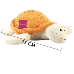 Selay - Selay Oyuncak Büyük Peluş Kaplumbağa 68 Cm