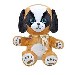 Selay - Selay Oyuncak Çok Sevimli Oturan Peluş Köpek 55 Cm