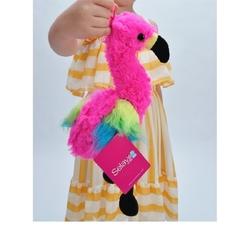 Selay - Selay Oyuncak Peluş Flamingo Gökkuşagı 25 cm