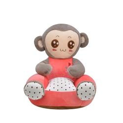 Selay - Selay Oyuncak Peluş Maymun Minder 60cm