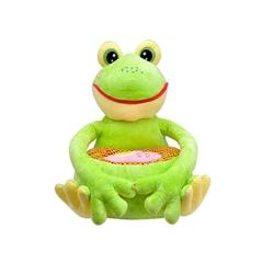 Selay - Selay Oyuncak Peluş Sevimli Kurbağa Minder 50CM