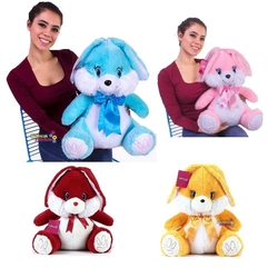 Selay - Selay Oyuncak Peluş Tavşan 50 Cm 4 Renk