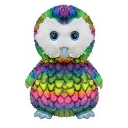 Selay - Selay Oyuncak Renkli Peluş Baykuş 40 Cm