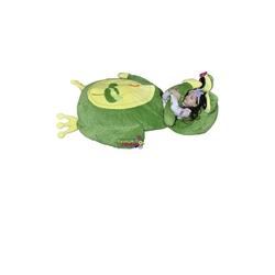 Selay Peluş Kurbağa Minder Yatak 150 Cm Büyük Boy - Thumbnail