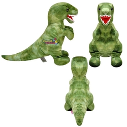 Selay - Selay Peluş Oyuncak Dinozor Ayakta T-Rex 50 Cm