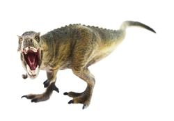 MEGA - Sert Plastik 16,5 cm Dinozor Figür - T-Rex