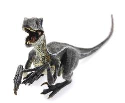 MEGA - Sert Plastik 21 cm Dinozor Figür - Raptor