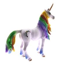 MEGA - Sert Plastik Figür Gökkuşağı Unicorn