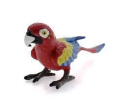 MEGA - Sert Plastik Papağan Figür