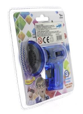 Ses Değiştirici Mini Mavi Megafon