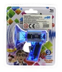 Ses Değiştirici Mini Mavi Megafon - Thumbnail