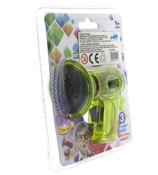 Ses Değiştirici Mini Yeşil Megafon - Thumbnail