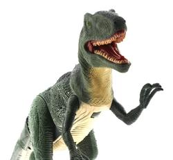 MEGA - Sesli, Işıklı ve Hareketli Yeşil Dinozor T-Rex