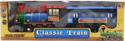 MEGA - Sesli Ve Işıklı Klasik Mavi Tren - 838