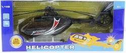 MEGA - Siyah Plastik Helikopter Mk1009S