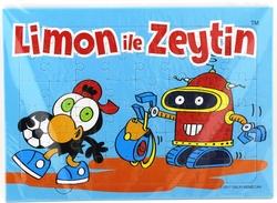 SİZİNKİLER - Sizinkiler Limon Ve Zeytin Plaka Puzzle