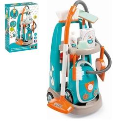 Smoby - Smoby Oyuncak Temizlik Arabası Vakum Temizleyici 330309