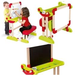 Smoby - Smoby Yazı Tahtası Çift Taraflı Sandalyeli Modulo Space Desk 028112